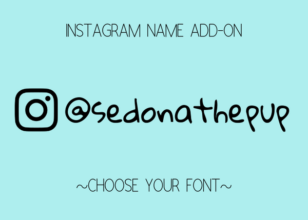 Instagram Name Add-On