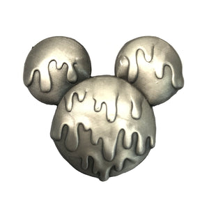 Wasted Days Mickey Pin - Ant Silver