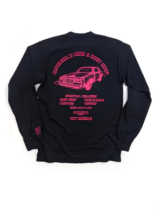 Homegirls Mind & Body Shop Long Sleeve tee