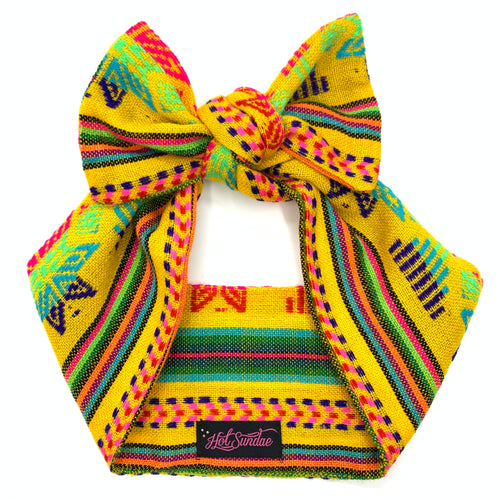 Sarape Head Wrap - Yellow