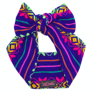 Sarape Head Wrap - Durango Purple