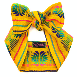 Sarape Head Wrap - Yellow Piña