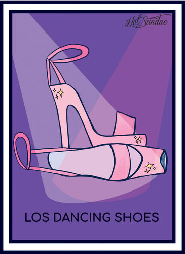 Los Dancing Shoes - Girlteria Sticker