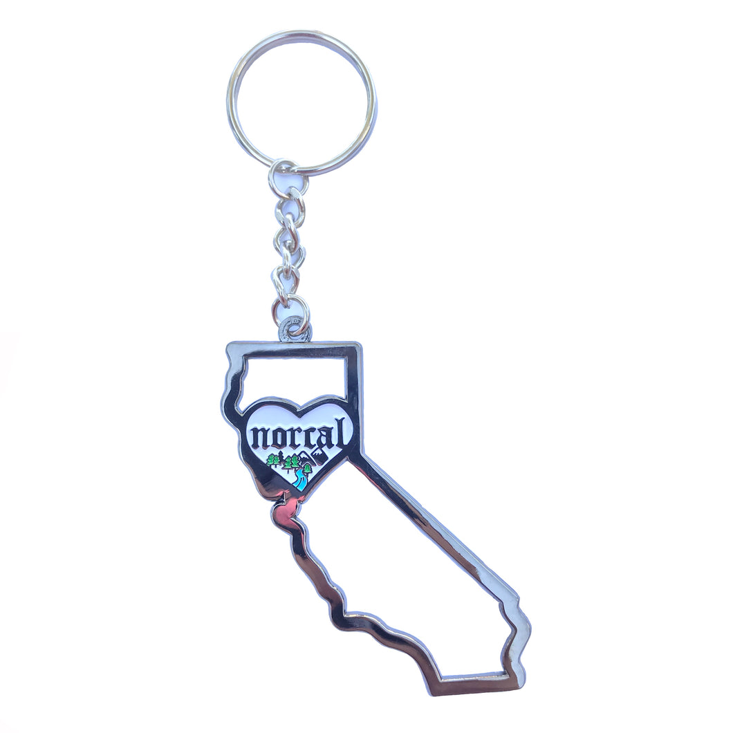 NorCal Key Chain