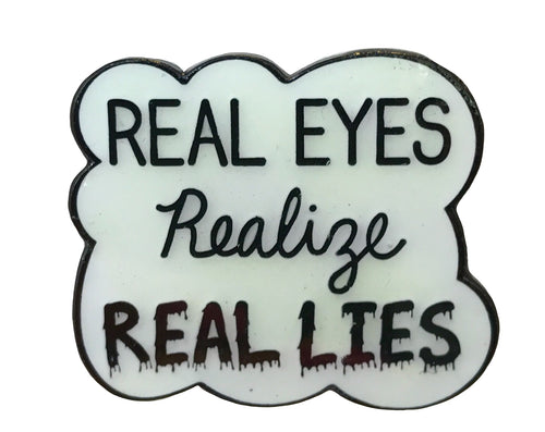 Real Eyes Pin - Glow in the Dark