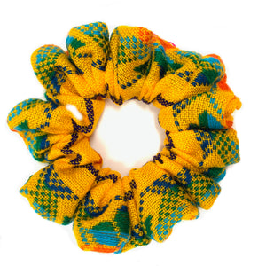 Sarape Scrunchie - Yellow Multi
