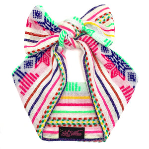 Sarape Head Wrap - White