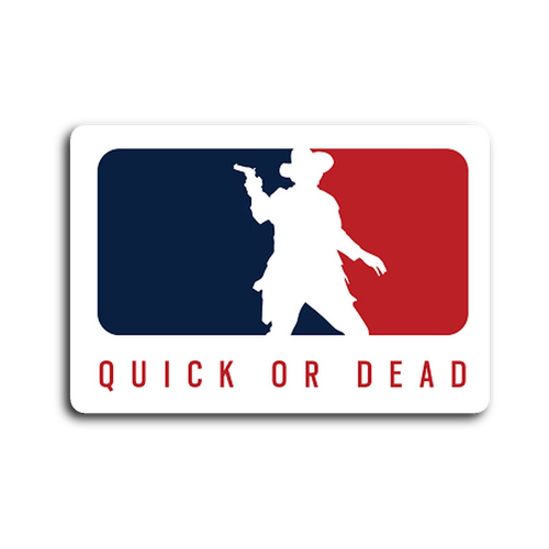 Major League Outlaw - Sticker