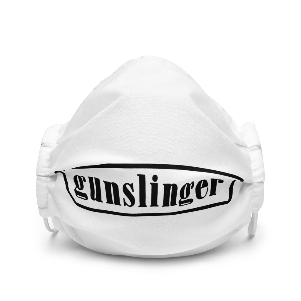 Gunslinger - Premium face mask