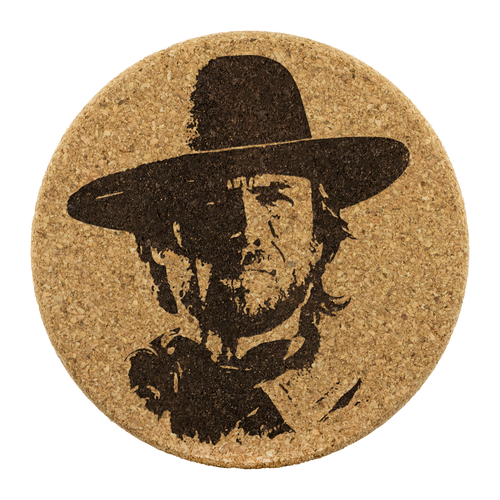 Josey Wales - Round Cork Coaster (set of 4)