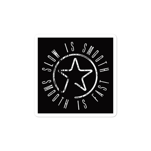 Smooth Star - Bubble-free stickers