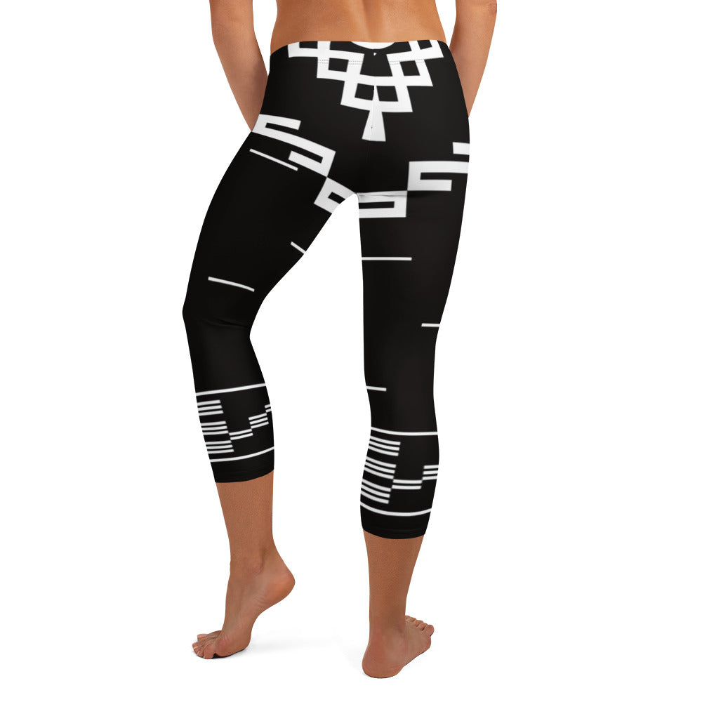 Cowgirl Country 2 - Capri Leggings