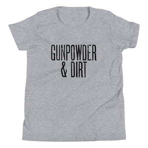 Gunpowder & Dirt - Youth Short Sleeve T-Shirt
