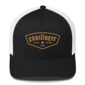 Gunslinger - Freetown - Gold/Black - Trucker Cap