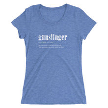 Load image into Gallery viewer, Gunslinger - Ladies' short sleeve t-shirt