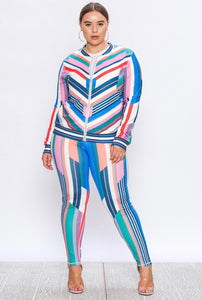 Candy Coated Tracksuit (Plus)