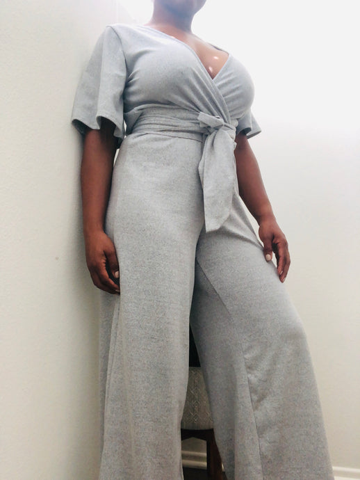 Knit at noon jumpsuit