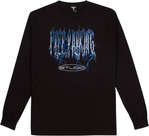 Metal Fizz Long Sleeve - Black