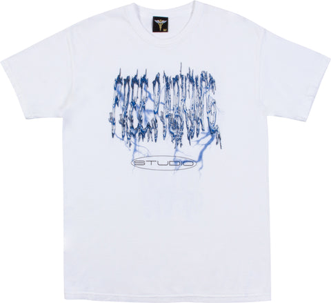 Metal Fizz Short Sleeve - White