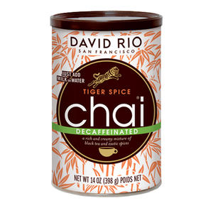 David Rio Tiger Spice Chai Decaf - 14oz
