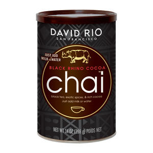 David Rio Black Rhino Cocoa Chai 14oz