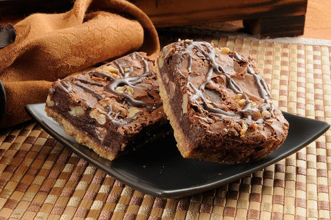 Caramel Pecan Brownie