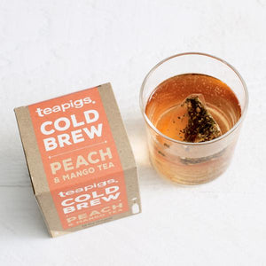 Tea Pigs - Cold Brew - Peach Mango