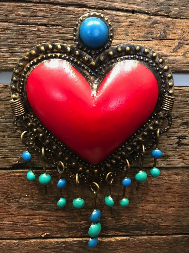 MEXICAN HEART WITH THE BLUES