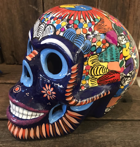 MEXICAN SKULL REALLY GLOSSY