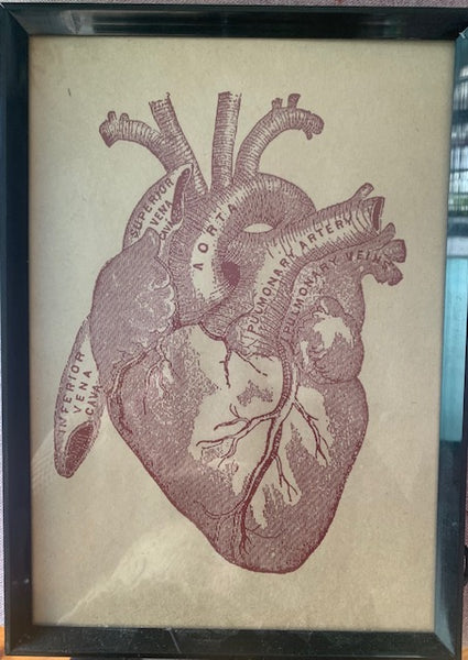 My Corazon HK Framed Graphic