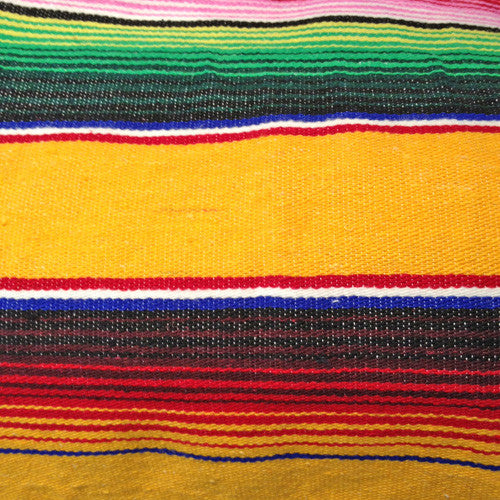 TRADITIONAL MEXICAN COTTON BLANKET XL