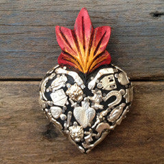MEXICAN MIRACLE HEART SMALL