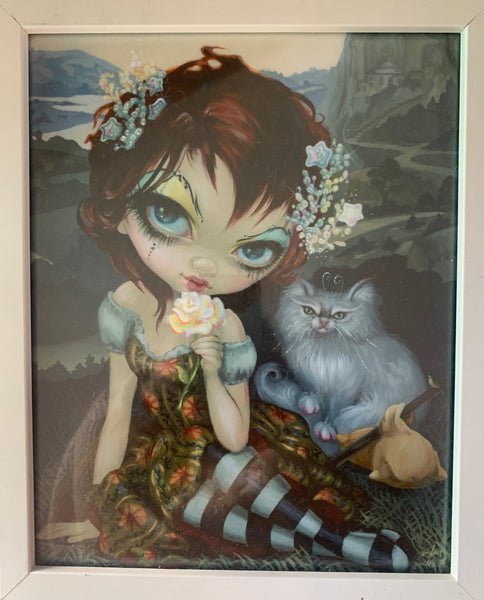 Cat Girl Limited Ed Print