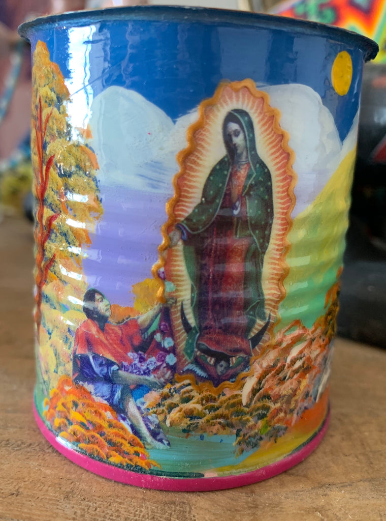 Hand painted Peruvian Tin