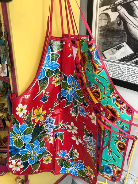 MEXICAN OIL CLOTH APRON