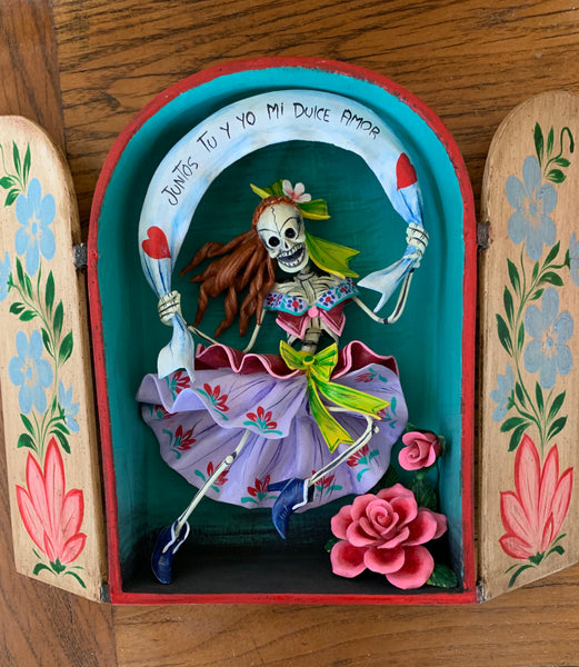 Day of the Dead Skeleton House