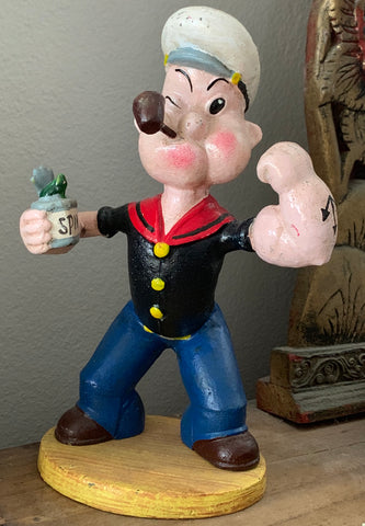 CAST IRON POPEYE