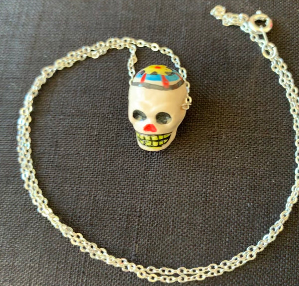 SKULL HANDMADE NECKLACE
