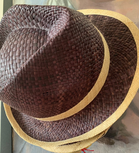 Panama Hat Woven by Hand all Raffia