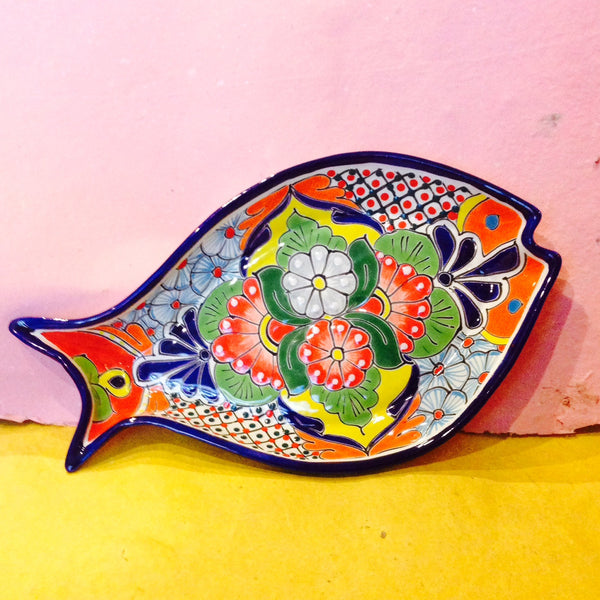 MEXICAN CERAMIC FISH DISH