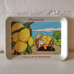 MEXICAN DONALD DUCK TRAY