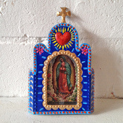 MEXICAN GUADALUPE SHADOW BOX