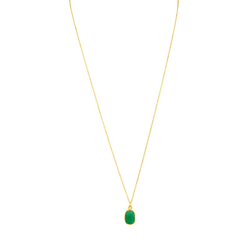 Rectangle Green Onyx
