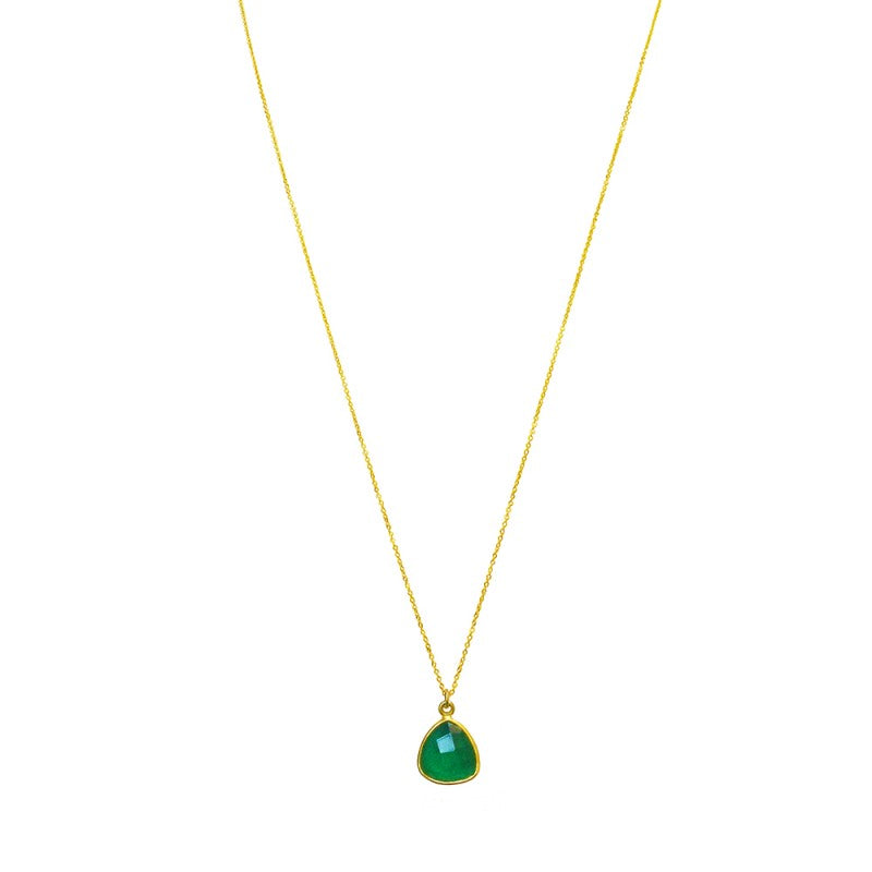Triangle Green Onyx