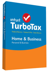 TurboTax Home & Business 2016 Federal + State Taxes + Fed Efile Tax
