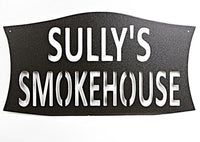 Custom Smokehouse Sign Single Layer