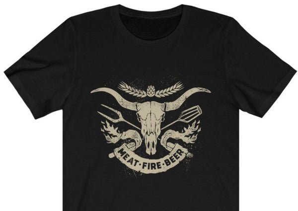 Meat Fire Beer T-Shirt