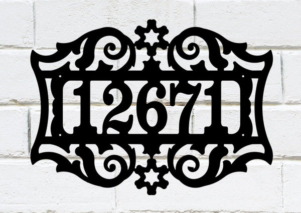 Address Sign 3