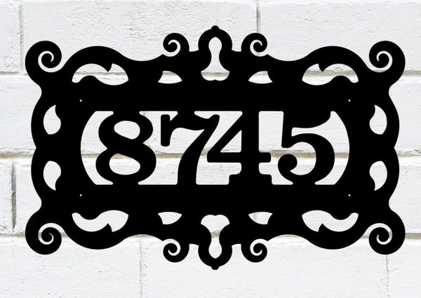 Address Sign 2