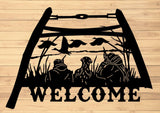 Bow Saw Duck Hunting Welcome - DDR Fabrication